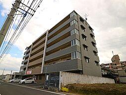福岡県遠賀郡遠賀町大字今古賀の賃貸マンションの外観