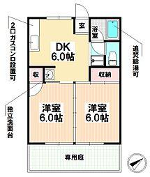 愛知県名古屋市瑞穂区日向町1丁目の賃貸アパートの間取り