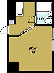 ロイヤル阿波座[2階]の間取り
