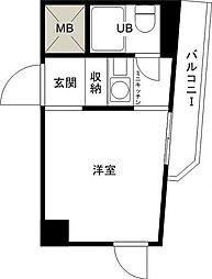 東京都江戸川区西小岩2の賃貸マンションの間取り