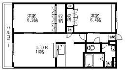 Limiri[3階]の間取り
