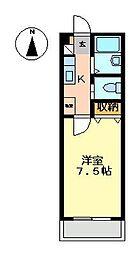 アプローズ[2階]の間取り