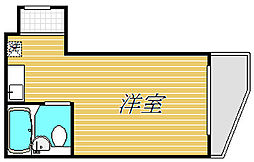 パレ・ドール杉並[2階]の間取り