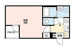 Eral板橋(エラル板橋)[103号室]の間取り