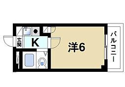 シティパレス西大寺P-5[2階]の間取り