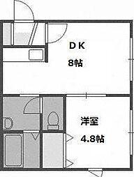 マンションアスリート[2階]の間取り