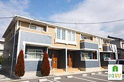 香川県高松市元山町の賃貸アパートの外観