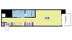 ディアさくら夙川[N303号室]の間取り