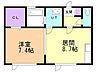 間取り,1DK,面積41m2,賃料6.8万円,バス くしろバス富士見3丁目下車 徒歩3分,,北海道釧路市富士見2丁目7番15号