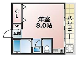 グランディア篠原弐番館[2階]の間取り