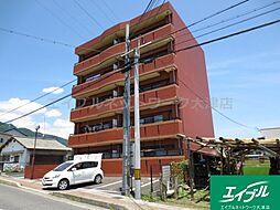 滋賀県大津市下阪本4丁目の賃貸マンションの外観