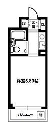 ハイツシグマ[5階]の間取り