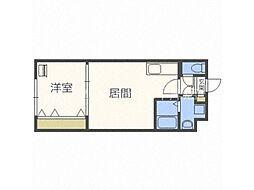フォルツェ札幌[4階]の間取り