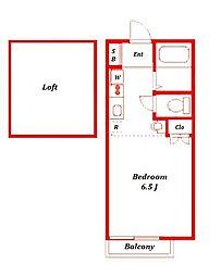 ワイツーハウス[1階]の間取り