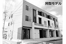 愛知県東海市荒尾町金山の賃貸アパートの外観