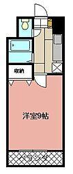 KMマンション八幡駅前II[711号室]の間取り