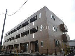 東京都武蔵村山市残堀5丁目の賃貸マンションの外観