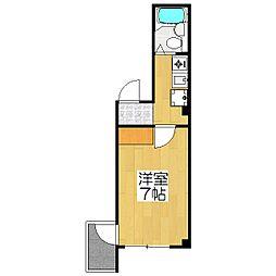 アメニティK2[305号室]の間取り