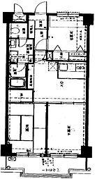 B棟(NICハイム金沢文庫B棟)[1階]の間取り