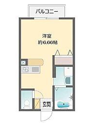 ヴィラ坂本[208号室]の間取り