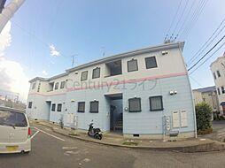 兵庫県宝塚市小林5丁目の賃貸アパートの外観