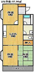 KIハイム[2階]の間取り