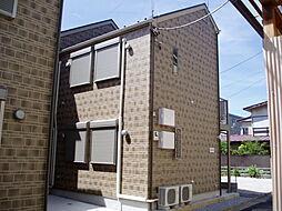 東京都北区志茂2丁目の賃貸アパートの外観