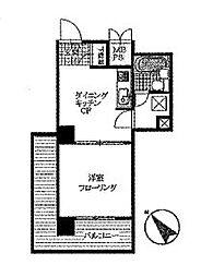 ライオンズマンション横須賀中央第5[603号室]の間取り