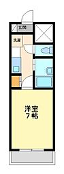 ベルメゾン本田[3階]の間取り
