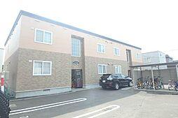 北海道札幌市北区太平三条3丁目の賃貸アパートの外観