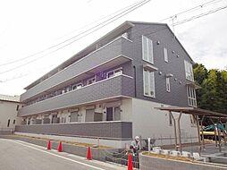 滋賀県大津市本堅田6丁目の賃貸アパートの外観
