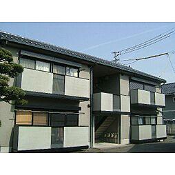 静岡県静岡市清水区大内新田の賃貸アパートの外観