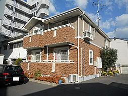 愛媛県松山市本町5丁目の賃貸アパートの外観