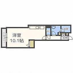 PRIME URBAN札幌 RIVER FRONT[11階]の間取り