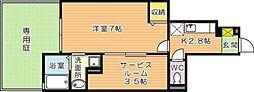 OneLove(ワンラブ)[1階]の間取り