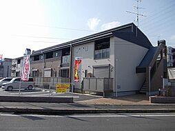 京都府京都市伏見区下鳥羽中円面田町の賃貸アパートの外観