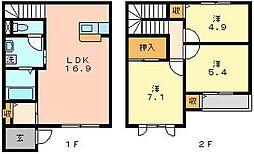 シャーメゾン大塚[1階]の間取り