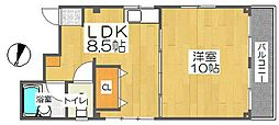 アイアンハイツ[2階]の間取り