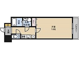 レジュールアッシュPREMIUMTWIN-1[2階]の間取り