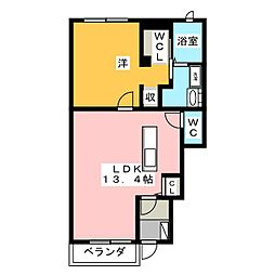 インスラ[1階]の間取り