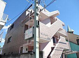 愛知県名古屋市名東区極楽3丁目の賃貸マンションの外観