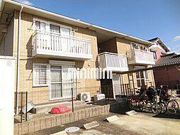 愛知県北名古屋市西之保高野の賃貸アパートの外観