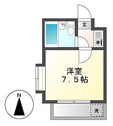 アルカディア御器所[2階]の間取り