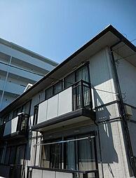 埼玉県坂戸市溝端町の賃貸アパートの外観