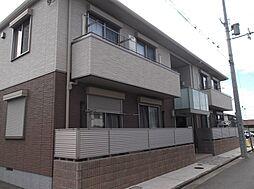 大阪府茨木市下中条町の賃貸アパートの外観