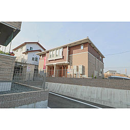 岡山県赤磐市桜が丘東1の賃貸アパートの外観