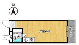 プレアール小戸[6階]の間取り