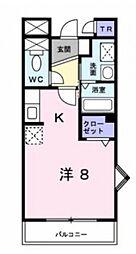 サニーレジデンス[3階]の間取り