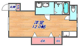 MASUDAアパートメント[102号室]の間取り