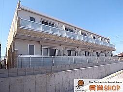 千葉県習志野市鷺沼台3の賃貸アパートの外観